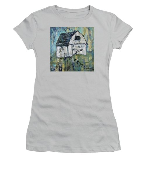 Lone Barn Women's T-Shirt (Junior Cut) by Kirsten Reed