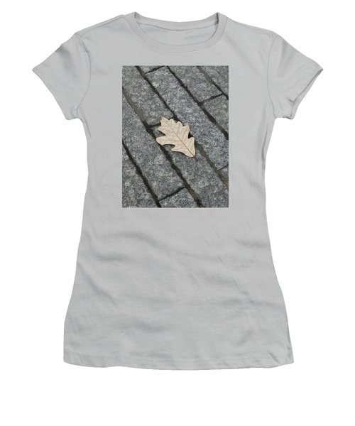Lonely Leaf Women's T-Shirt (Athletic Fit)
