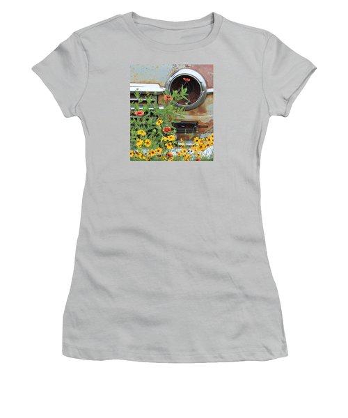 Long Term Parking Women's T-Shirt (Junior Cut) by Joe Jake Pratt