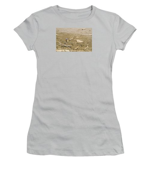 Lost Message In A Bottle Women's T-Shirt (Athletic Fit)