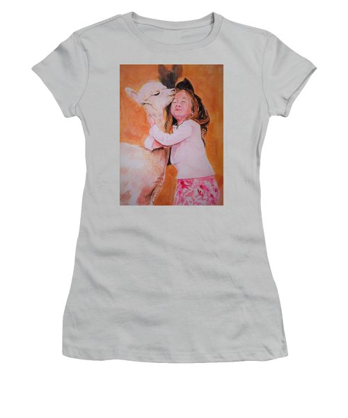 Sensitivity. Women's T-Shirt (Junior Cut) by Khalid Saeed