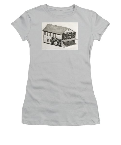 Lowe Brothers Hardware  Women's T-Shirt (Junior Cut) by Tony Clark
