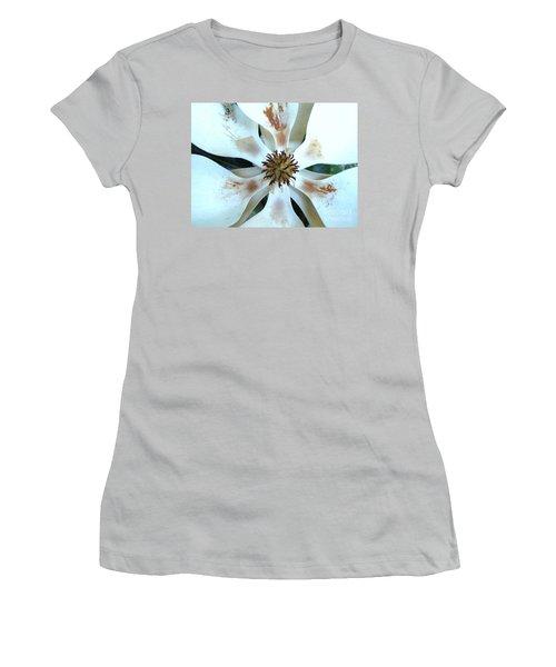 Magnolia Pinwheel Women's T-Shirt (Athletic Fit)