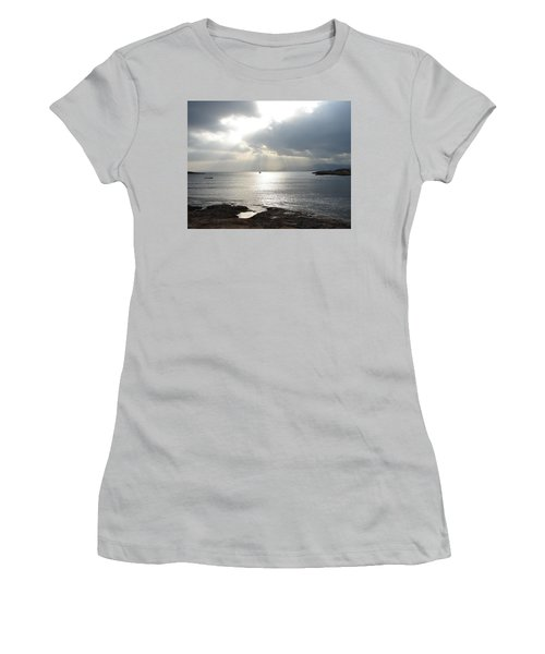 Women's T-Shirt (Junior Cut) featuring the photograph Mallorca by Ana Maria Edulescu