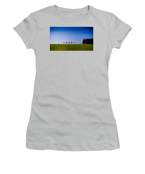 March To The Forest Women's T-Shirt (Athletic Fit)