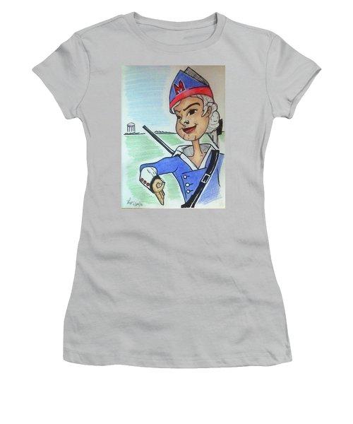 Marion Jr Women's T-Shirt (Junior Cut) by Loretta Nash