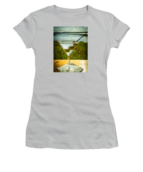 Martini On Fine Summer Day Women's T-Shirt (Athletic Fit)