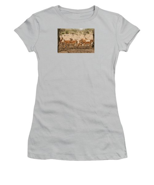 Master Of His Domain Women's T-Shirt (Junior Cut) by Gary Hall