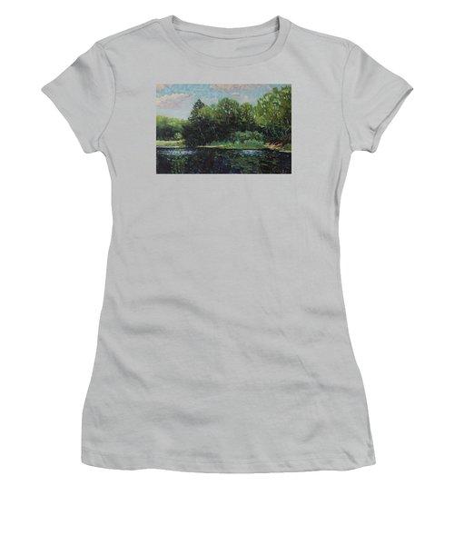 Mccrae Portage Women's T-Shirt (Athletic Fit)