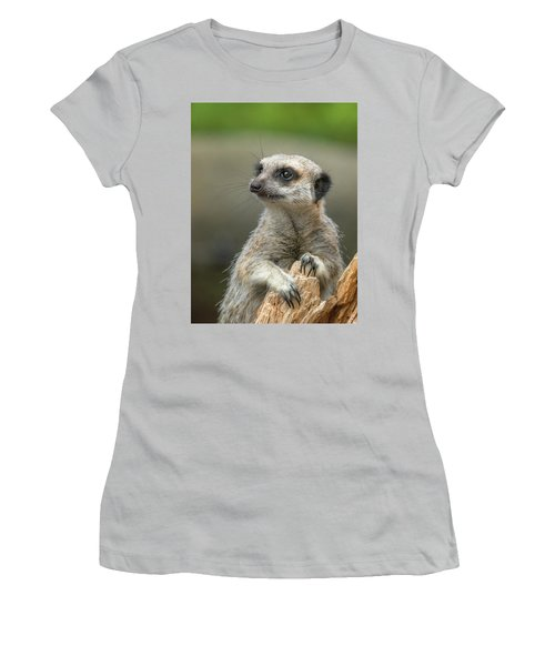 Meerkat Model Women's T-Shirt (Athletic Fit)