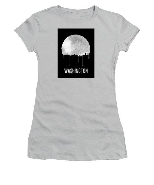 Memphis Skyline Black Women's T-Shirt (Athletic Fit)