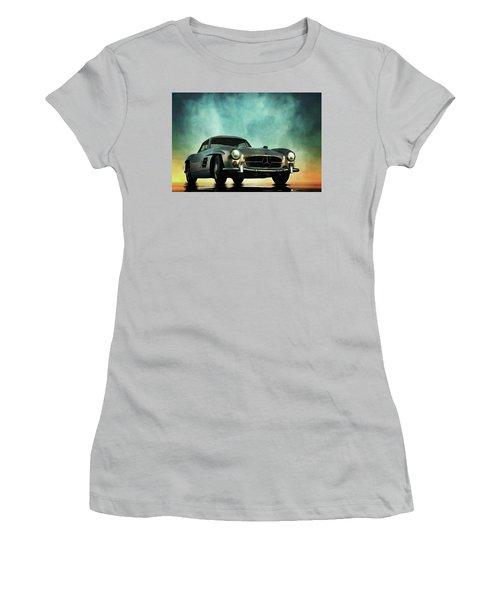 Mercedes 300sl Women's T-Shirt (Athletic Fit)
