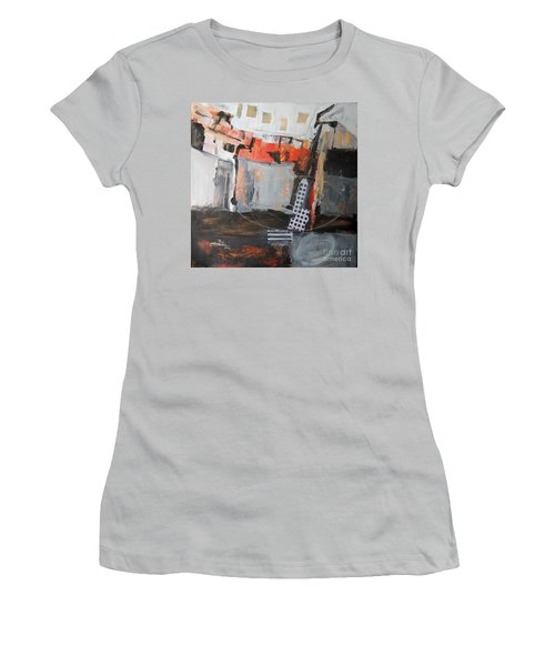 Metro Abstract Women's T-Shirt (Junior Cut)