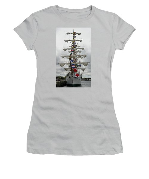 Mexican Navy Ship Women's T-Shirt (Athletic Fit)