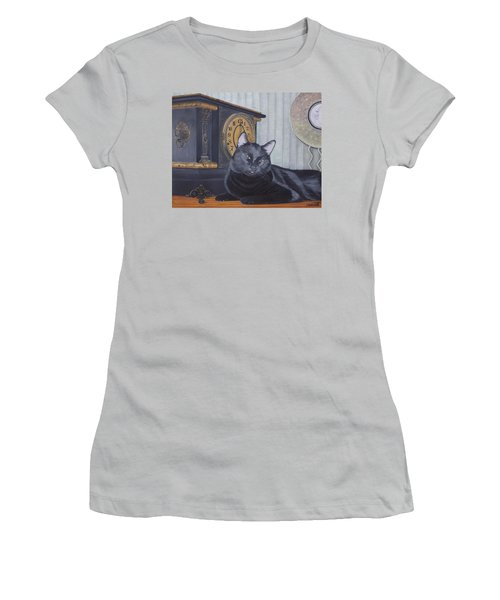 Midnight Women's T-Shirt (Athletic Fit)