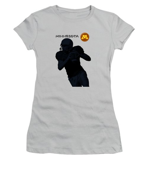 Minnesota Football Women's T-Shirt (Athletic Fit)