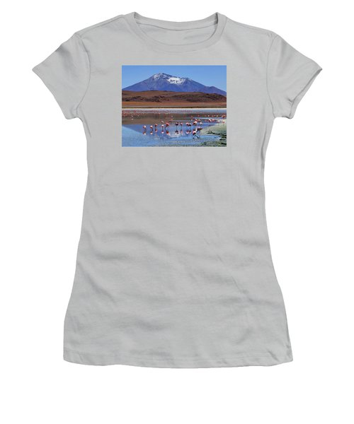 Women's T-Shirt (Junior Cut) featuring the photograph Mirage by Skip Hunt