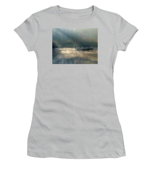 Misty Sunrise Women's T-Shirt (Junior Cut) by George Randy Bass