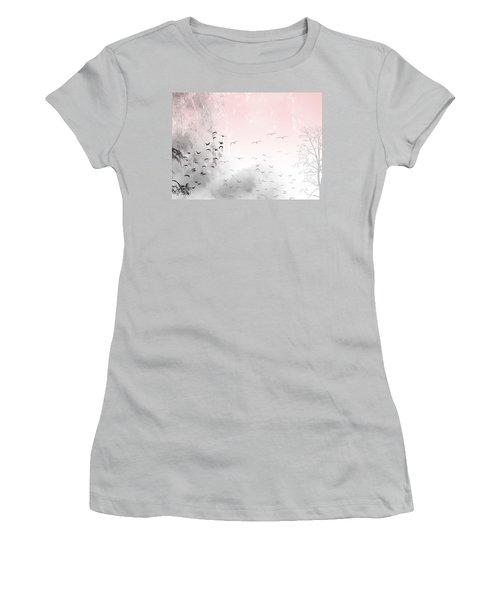 Mondays Women's T-Shirt (Junior Cut) by Trilby Cole