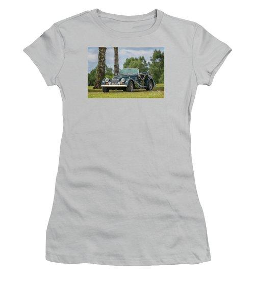 Women's T-Shirt (Junior Cut) featuring the photograph Morgan Sports Car by Adrian Evans