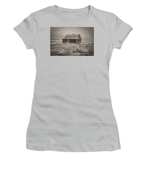 Mormon Row Grand Teton National Park  Women's T-Shirt (Athletic Fit)