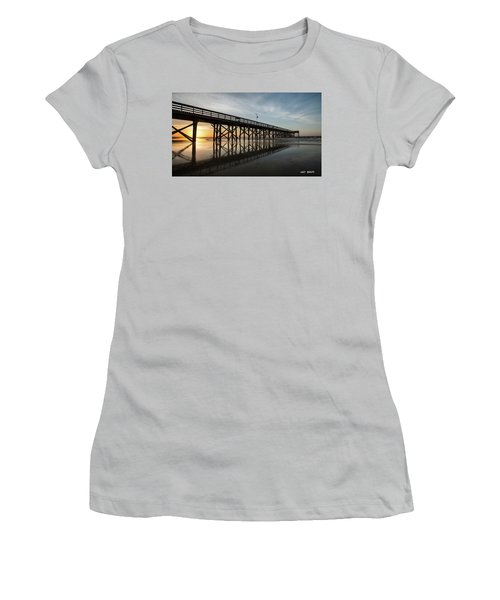 Morning Breaks Women's T-Shirt (Athletic Fit)