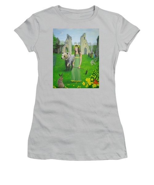 Mother Of Fire Goddess Artha - Spring Equinox Women's T-Shirt (Athletic Fit)