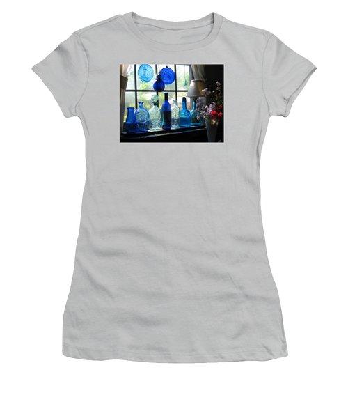 Mother's Day Window Women's T-Shirt (Junior Cut) by John Scates