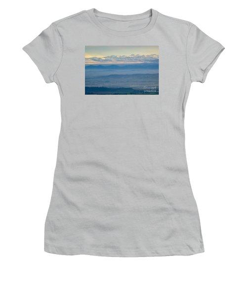 Mountain Scenery 11 Women's T-Shirt (Junior Cut) by Jean Bernard Roussilhe
