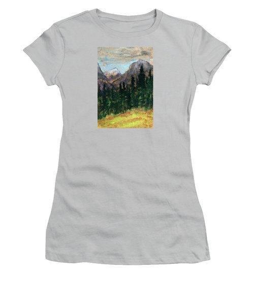 Mountain Vista Women's T-Shirt (Junior Cut) by R Kyllo