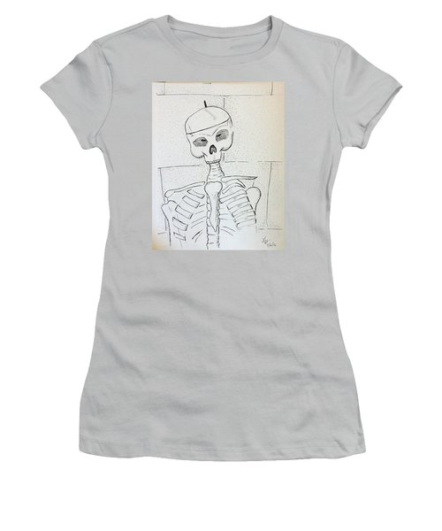 Mr Cooper's Aide Women's T-Shirt (Junior Cut) by Loretta Nash