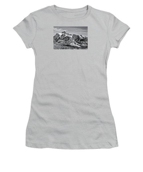 Mt. Shuksan Women's T-Shirt (Junior Cut) by Sabine Edrissi
