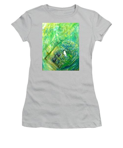 My Book Women's T-Shirt (Athletic Fit)