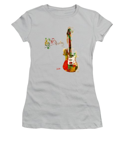 My Guitar Can Sing Women's T-Shirt (Athletic Fit)