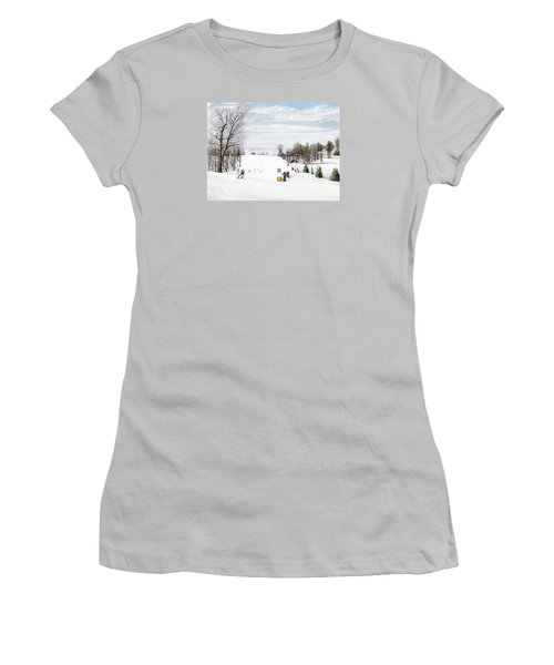 Nastar At Seven Springs Mountain Resort Women's T-Shirt (Athletic Fit)