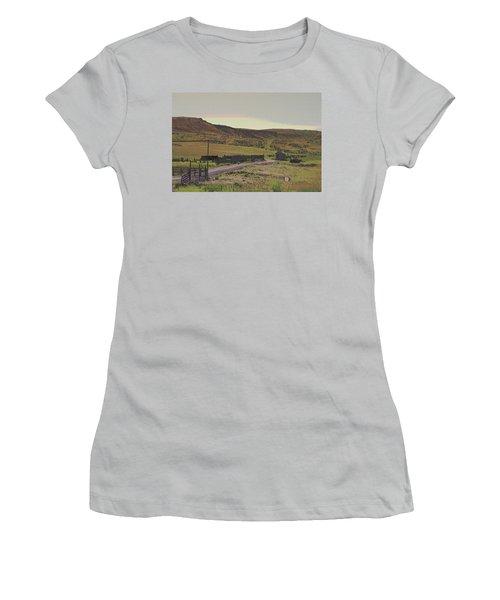Nebraska Farm Life - The Paddock Women's T-Shirt (Athletic Fit)