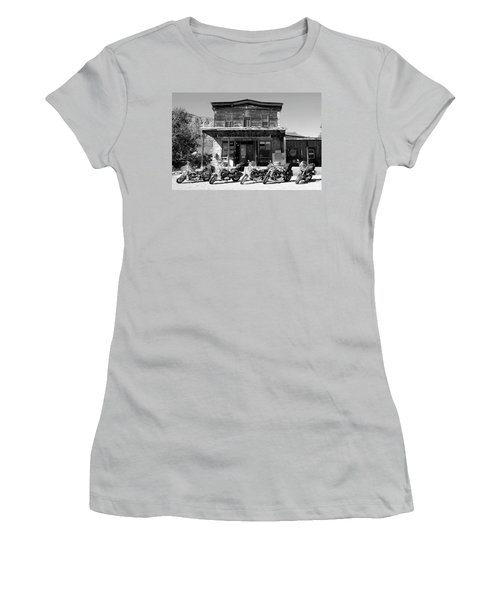 New Horses At Bedrock Women's T-Shirt (Athletic Fit)