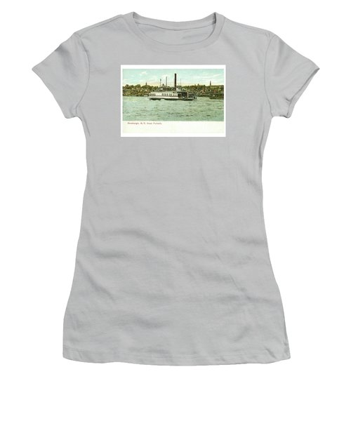 Newburgh Steamers Ferrys And River - 24 Women's T-Shirt (Athletic Fit)