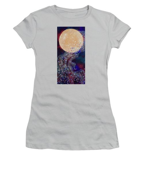 Night Magic Women's T-Shirt (Athletic Fit)