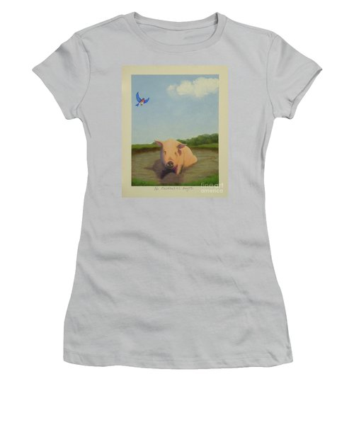 No Existential Angst Women's T-Shirt (Athletic Fit)