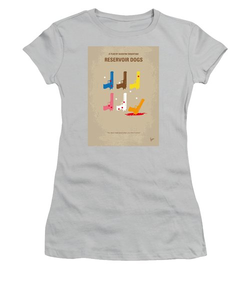 No069 My Reservoir Dogs Minimal Movie Poster Women's T-Shirt (Athletic Fit)