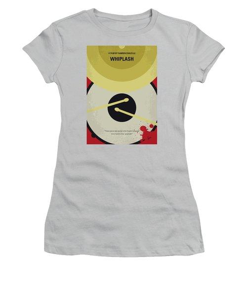 Women's T-Shirt (Junior Cut) featuring the digital art No761 My Whiplash Minimal Movie Poster by Chungkong Art