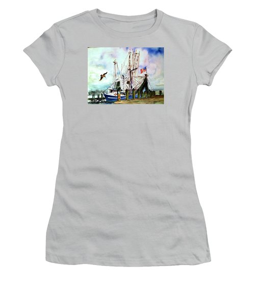 Nocho Boat Women's T-Shirt (Athletic Fit)