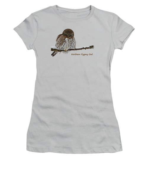 Northern Pygmy Owl 2 Women's T-Shirt (Athletic Fit)