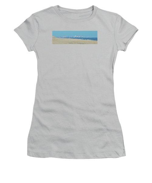 Oc Inlet Color Women's T-Shirt (Junior Cut) by William Bartholomew