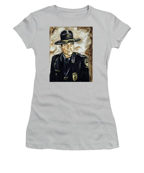 Officer Demaree Women's T-Shirt (Athletic Fit)
