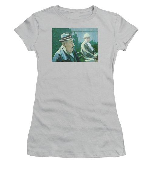 Old Friends Women's T-Shirt (Junior Cut)