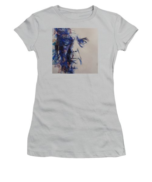 Old Man - Neil Young  Women's T-Shirt (Athletic Fit)
