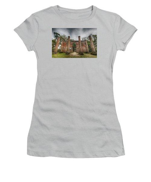 Old Sheldon Church Ruins Women's T-Shirt (Athletic Fit)