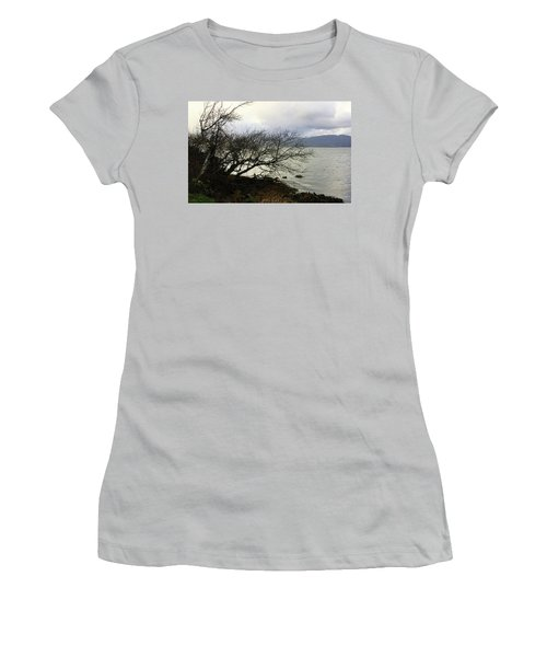 Old Tree By The Bay Women's T-Shirt (Athletic Fit)